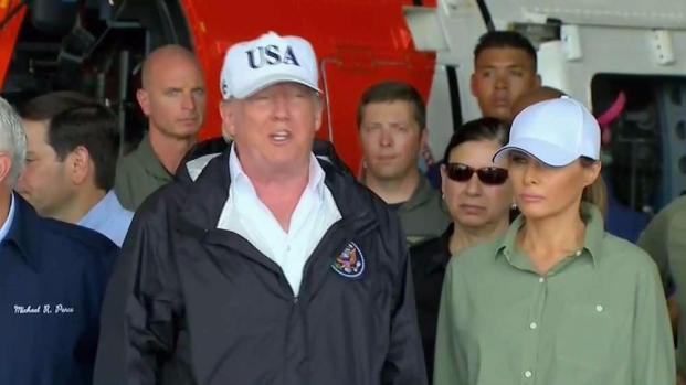 [NATL-MI] President Trump Arrives in Florida After Irma