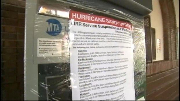 [NY] Residents Stay in Long Beach for Sandy