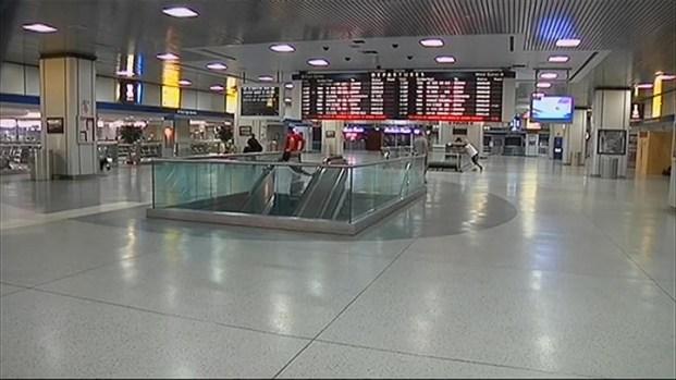 [NY] Hurricane Irene Heads to NY, Penn Station Deserted
