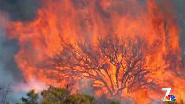 [DGO] Shockey Fire: Residents Watch and Wait