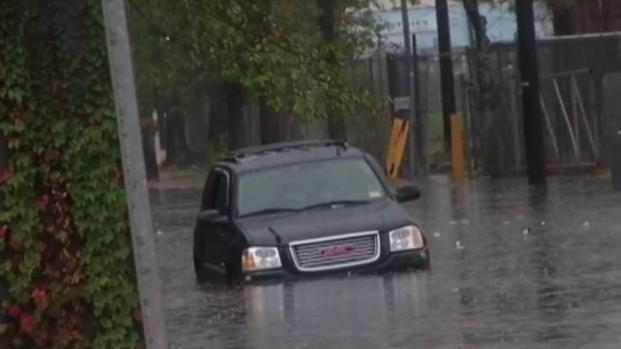 Streets Impassable in NJ as Storm Drops Inches of Rain