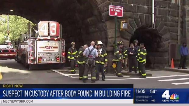 [NY] Suspect in Custody After Body Found in NYC Building Fir