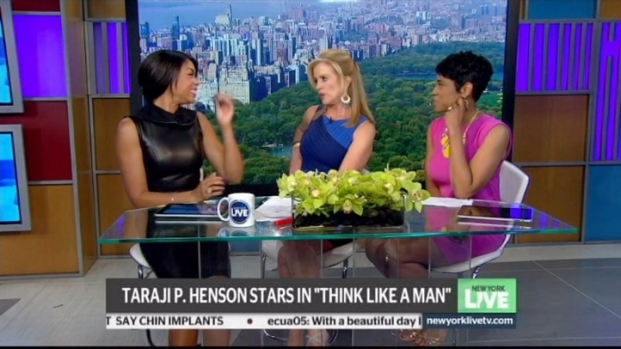"[NY] Taraji P. Henson Stars in ""Think Like A Man"""