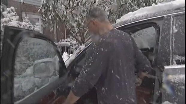 [NY] Heavy Snow in Teaneck, NJ [Raw]