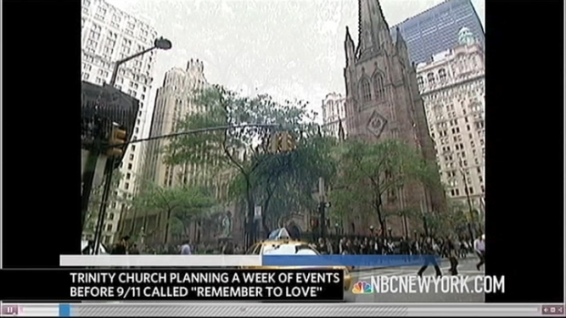 "[NY] ""Remember To Love"": Trinity Wall Street Marks The 10th Anniversary of 9/11"