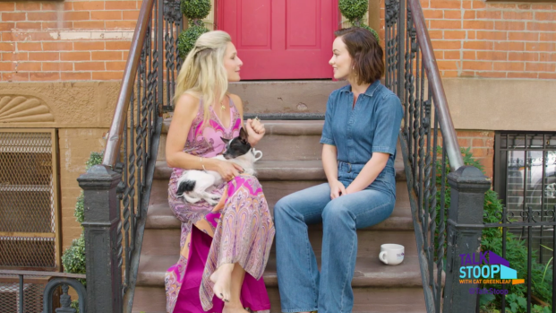 [Cozi] Olivia Wilde Break Dances on the Stoop with Cat Greenleaf