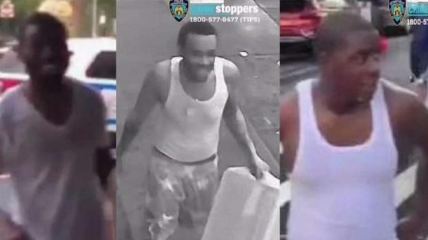 [NY] Three Men Wanted for Questioning in Dousing NYPD Cops