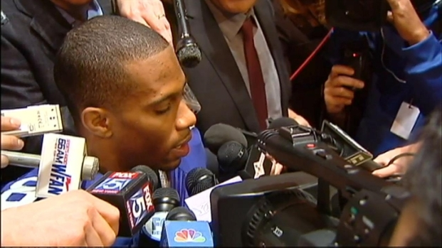 "[NY] Victor Cruz Says Tebowmania ""Exciting"""