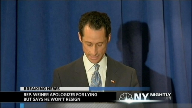 [NY] Weiner Apologizes, Welcomes Ethics Investigation