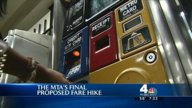 [NY] MTA Fare Hike