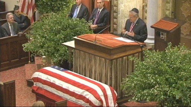[NY] Funeral Held for Late NJ Senator Frank Lautenberg