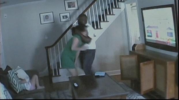 Nj wife filmed by naighbor - 3 1