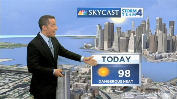 [NY] Morning Forecast for Friday, July 19.