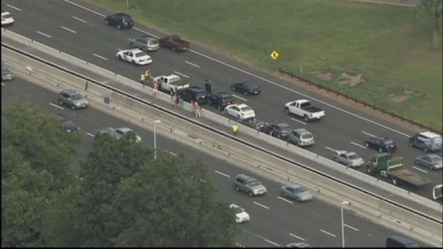 13 car crash slows traffic on garden state parkway nbc - Car accident garden state parkway ...