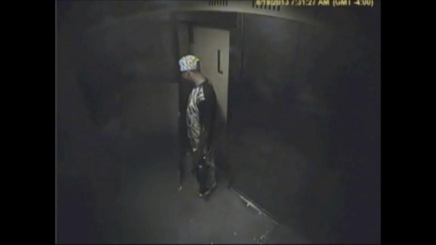 [NY] Video of Suspect in Elevator Sex Assault of Girl, 13