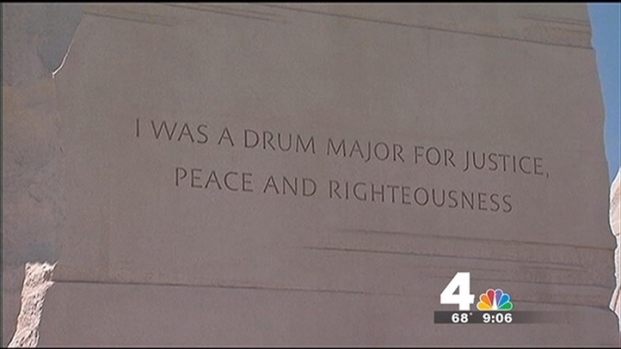 [DC] MLK Quote Removed from Memorial