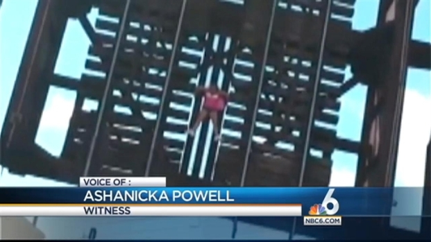 [MI] Witnesses Describe Seeing Woman Dangling Off New River Railroad Bridge in Fort Lauderdale