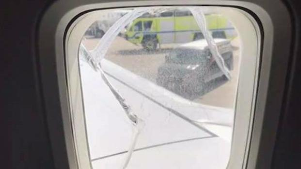 [NY] Window on Southwest Plane to NJ Cracks Mid-Flight