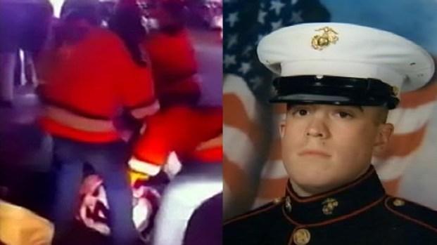 [NY] Beaten Rangers Fan Was Off-Duty Cop, Iraq War Vet
