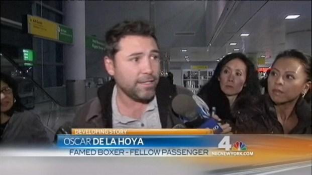 [NY] Passengers React to Alec Baldwin Fracas