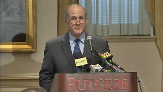 [NY] Rutgers President Discusses Slur Video, AD Resignation