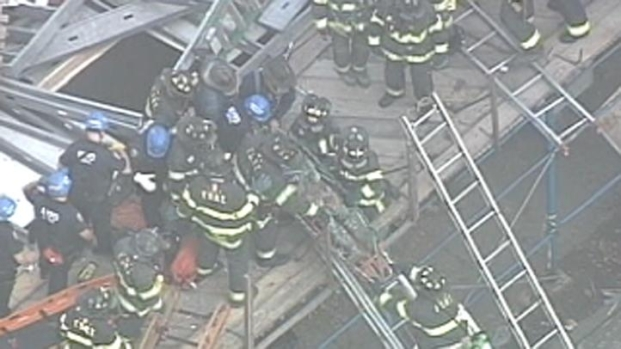 [NY] Brooklyn Building Collapses, Trapping Workers