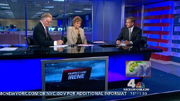 [NY] Brian Williams Talks Irene With Chuck and Sue