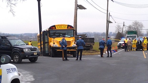 PHOTOS: NJ School Bus Collides With Dump Truck