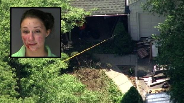 [NY] Police: Drunk Woman Drove Through Long Island House