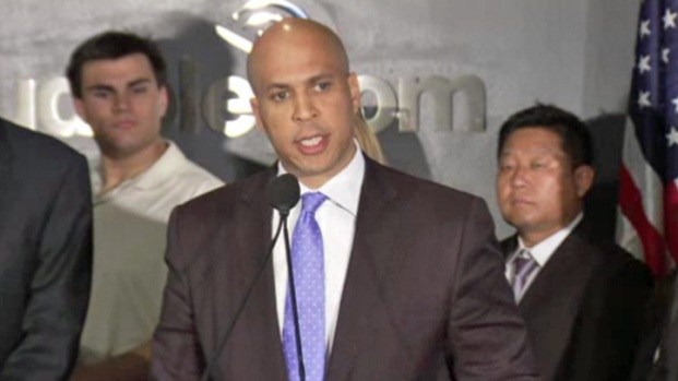 [NY] Cory Booker Officially Enters New Jersey Senate Race
