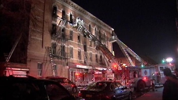 [NY] 40 Injured In Brooklyn Fire
