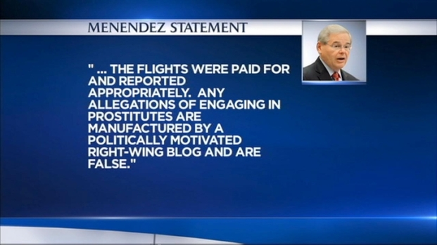 [NY] Menendez Denies Allegations Related to Florida Doctor