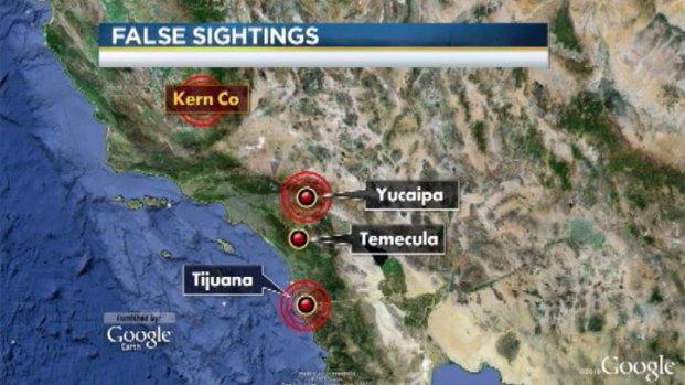 [LA] Numerous False Leads Followed in Dorner Manhunt