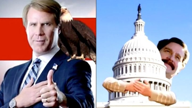 """[NATL] Will Ferrell and Zach Galifianakis Launch """"The Campaign"""" Campaign"""