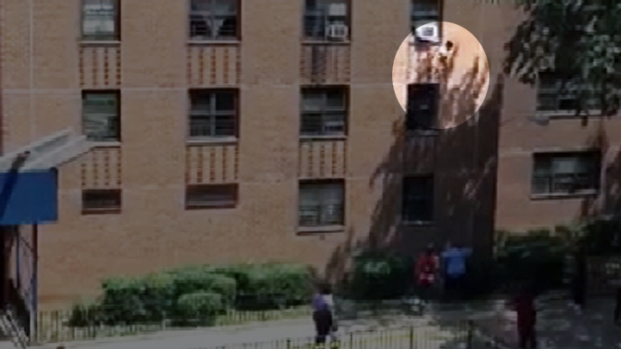 [NY] Girl Plunges 3 Stories from Building [RAW]
