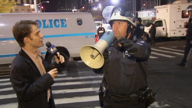 [NY] Journalists Obstructed at Zuccotti Park
