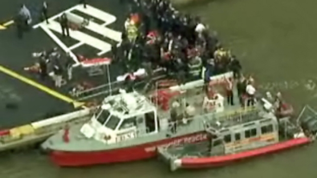 [NY] Rescues After East River Helicopter Crash