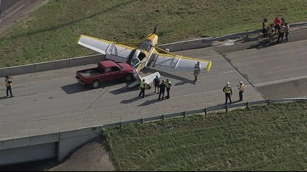 [DFW] Pilot Makes Emergency Landing in Arlington
