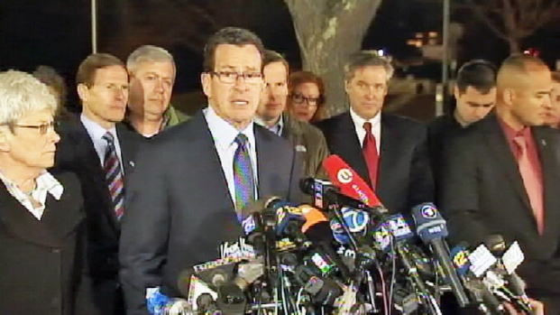 "[NY] Conn. Gov. Malloy: ""Evil Visited This Community"""