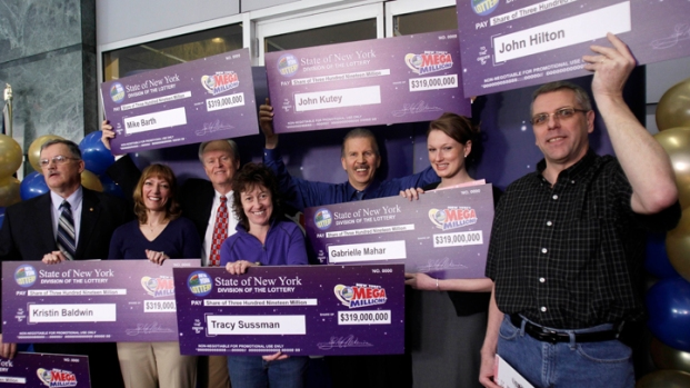 [NY] Jackpot! Mega Millions Winners React to Huge Prize