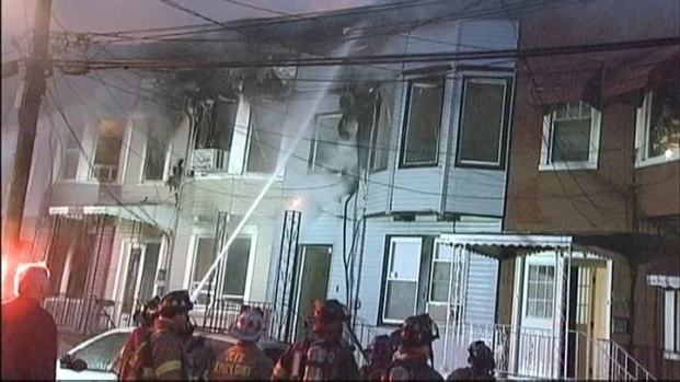 [NY] Jersey City Fire Rages on Easter Morning