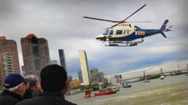 Dramatic Photos: Chopper Down in East River