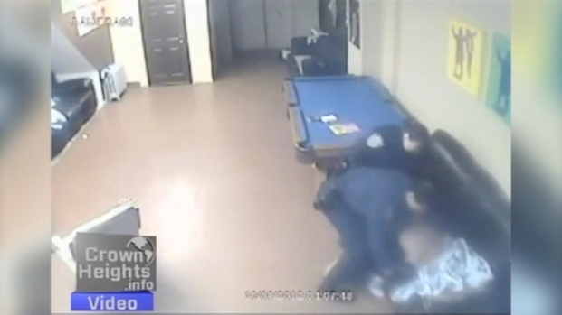 [NY] NYPD Pepper-Sprays Man Sleeping in Crown Heights Youth Center