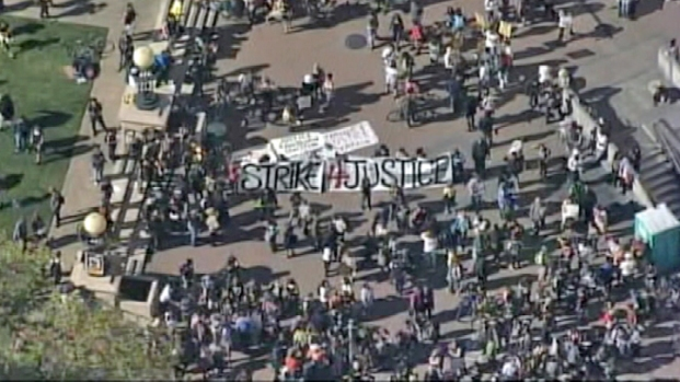 [BAY] Hundreds Gather in Oakland to Protest Zimmerman Verdict