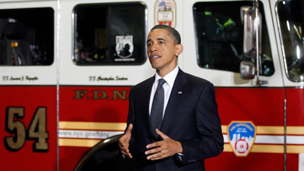 [NY] President Obama Speaks to Firefighters