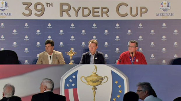 [CHI] Ryder Cup Team Captains Kick Off Event