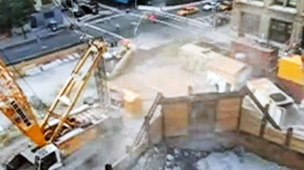 [NY] Residents Near Second Avenue Subway Project Say Dust Makes Them Sick
