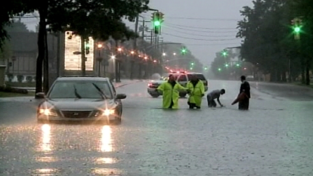 Summer Storm Floods Tri-State