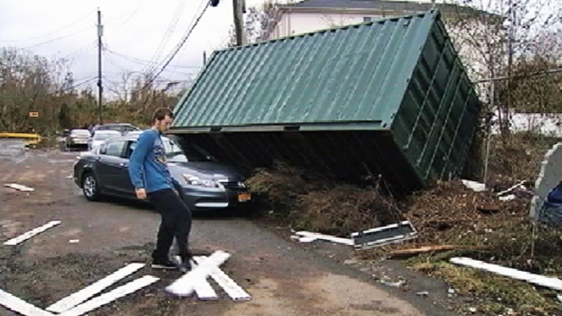 [NY] Water Recedes but Storm Damage Overwhelms in Staten Island