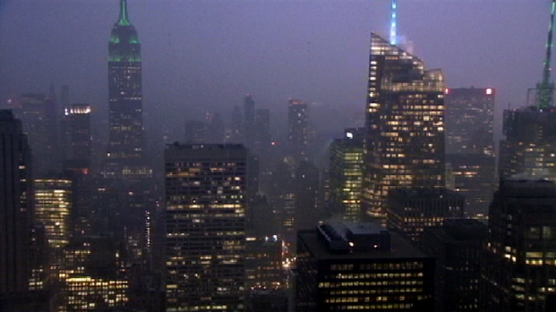 [NY] Stormy Weather from Top of the Rock